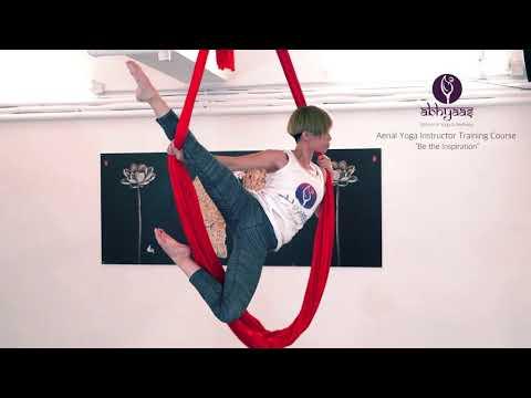 Abhyaas Yoga School - Aerial Yoga Instructor Training