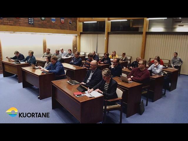 Kuortaneen kunnanvaltuuston kokous 10.02.2020