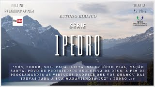 Estudo Bíblico  - 1 Pedro 4.1-7