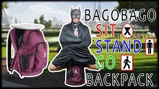 BagoBago Backpack Chair On The GO!!