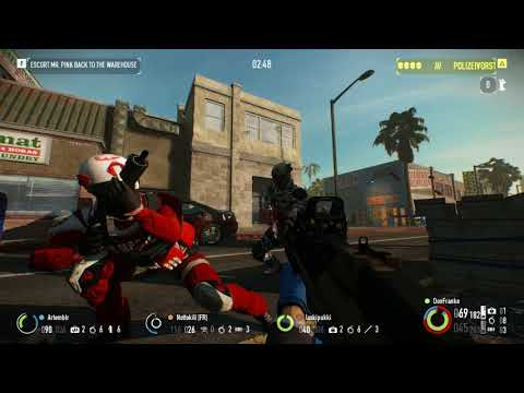 Payday 2 Reservoir Dogs Day 2 [New Heist] Part 1