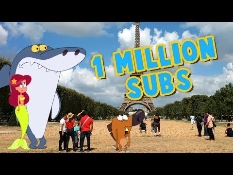 Zig & Sharko 🌴 1 MILLION SUBSCRIBERS ⭐ #THANKS