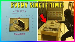 GTA 5 Online The Diamond Casino Heist Update - MONEY GLITCH! How To Get Gold & Diamonds EVERY TIME!