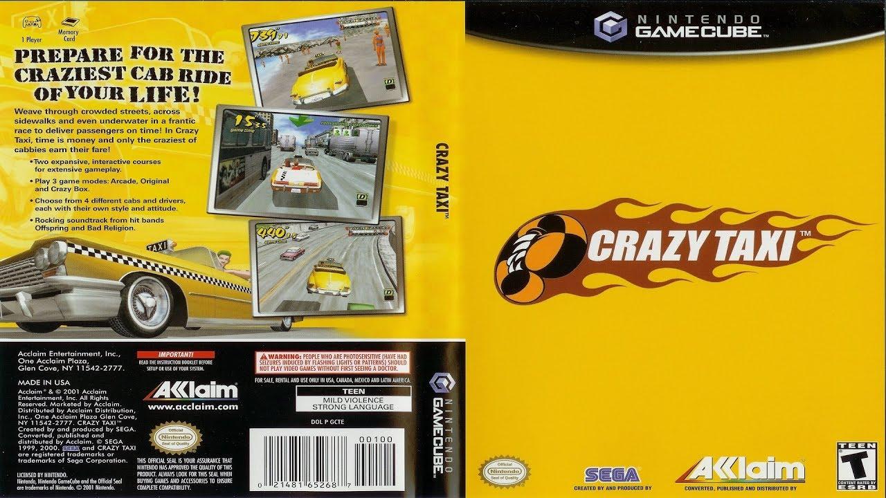 Nintendont Test: Crazy Taxi (Gamecube 2001)