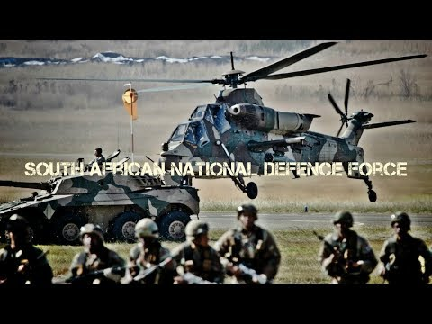 South African National Defence Force (SANDF) - Angkatan Bersenjata Afrika Selatan