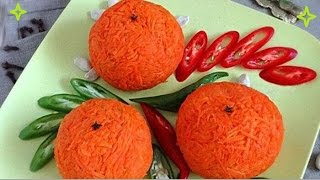 Салат закуска апельсин