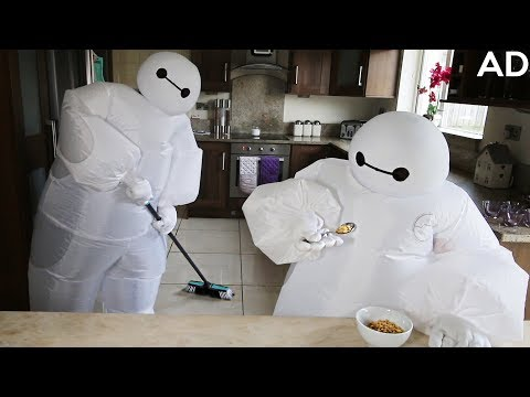 We Lived as Baymax For a Day *CHALLENGE*
