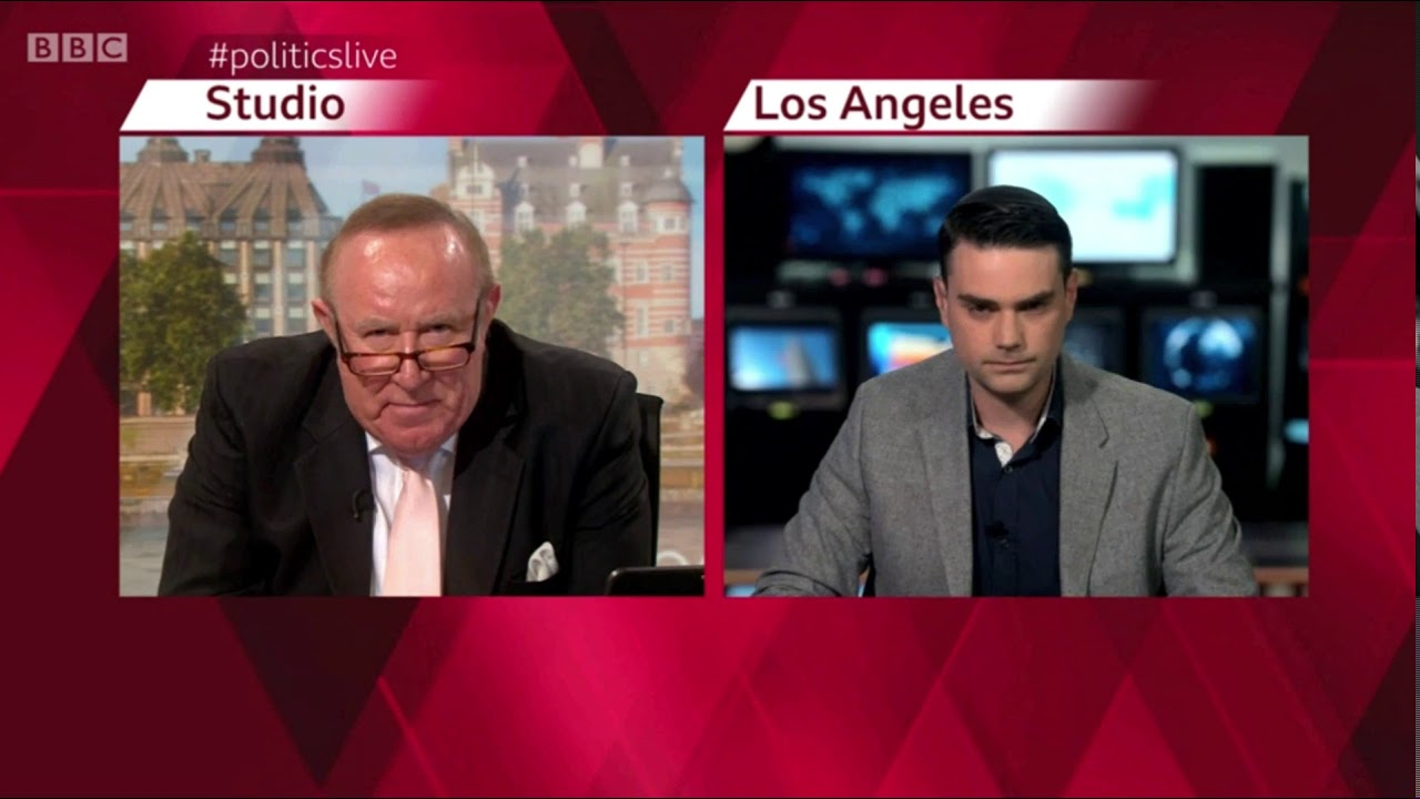 Ben Shapiro Walks Out Of Interview When BBC's Andrew Neil