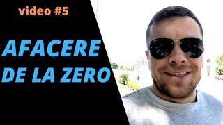 AFACERE DE LA ZERO #5 concurs | sport | investiția mea | design și iresponsabilitate