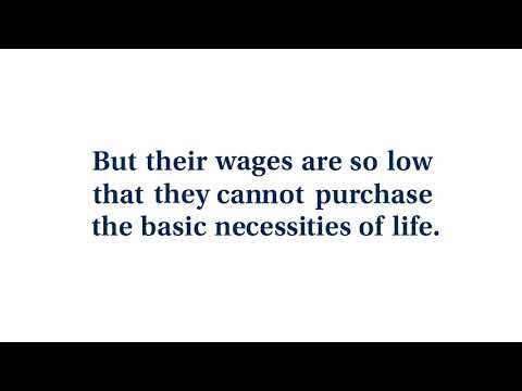 "Video: ""Perishing on a Lonely Island of Poverty"""