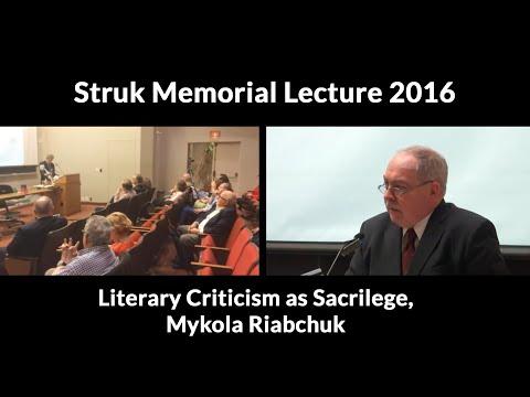 Literary Criticism as Sacrilege: Turning the Iconostasis into a National Canon, Mykola Riabchuk