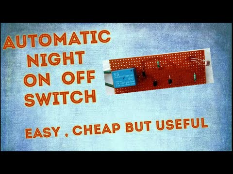 How to make a automatic night on off switch | With multi engineering