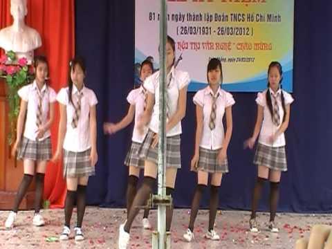 Nhảy hiện đại 10c1 THPT Toàn Thắng ( roly poly )