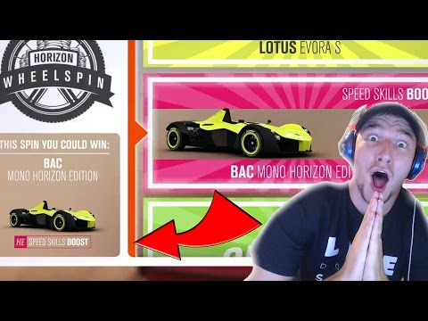 50+ WHEEL SPINS WITH LUCK on FORZA HORIZON 3!
