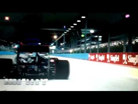Game F1. grand prix, Circuit Marina Bay Singapore