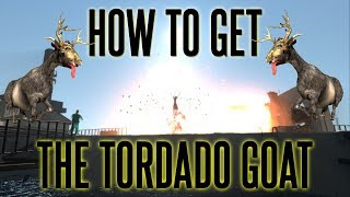 Goat Simulator - How to get the Tornado Goat!