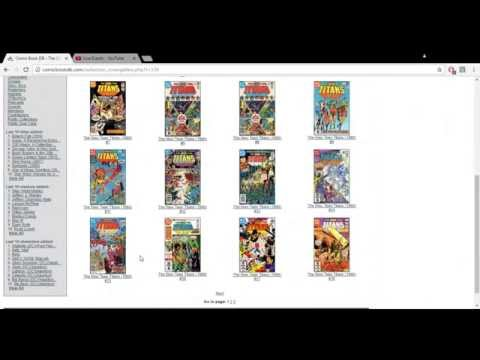 Comic Book DB : How I Catalog My Comics