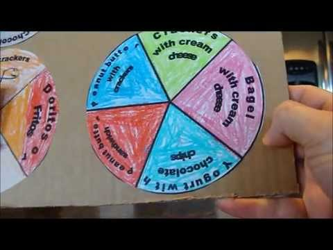 Homemade Cardboard Game Spinner Youtube