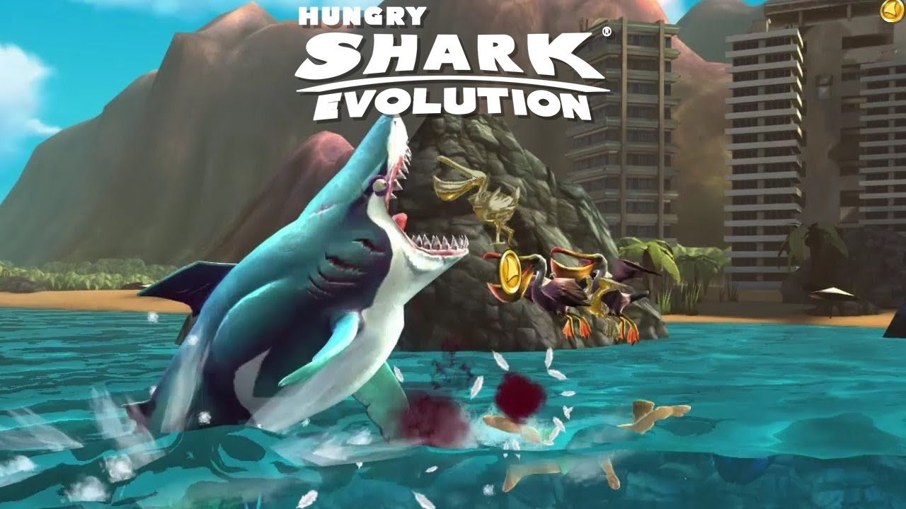 Hungry Shark Evolution Android Gameplay [1080p/60fps]