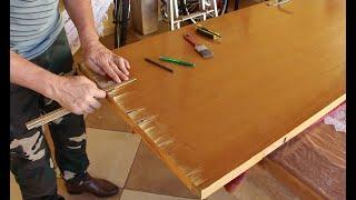 Como consertar portas de madeira lascadas