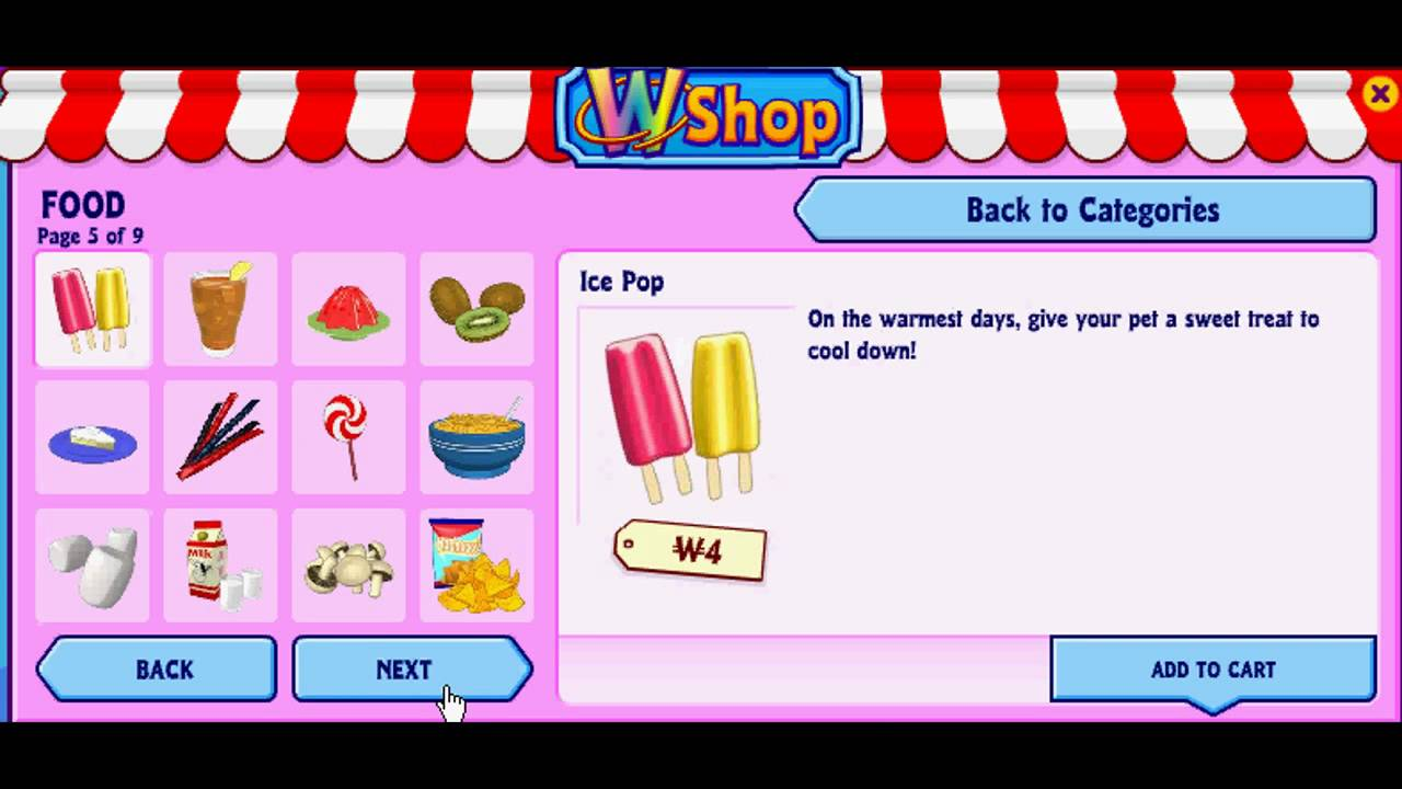 Webkinz recipe ainbowray canape youtube for Ainbowray canape