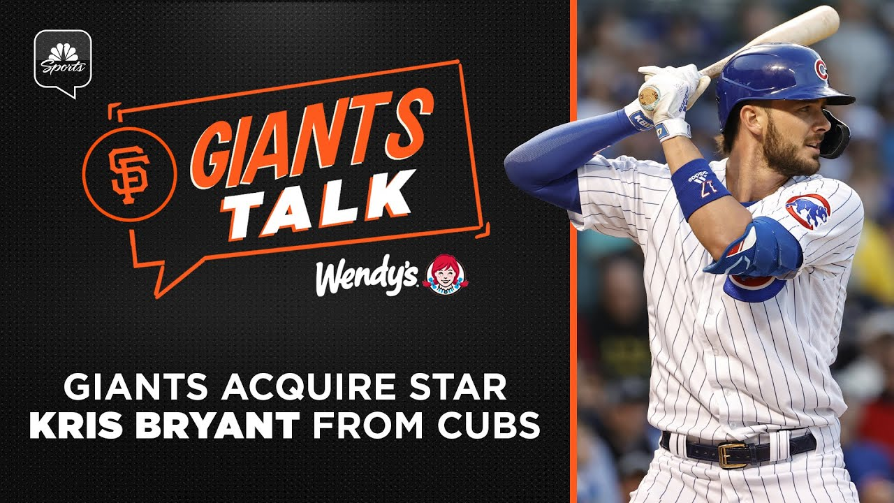 San Francisco Giants acquire Kris Bryant from Chicago Cubs for two ...
