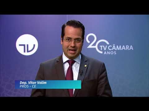 20 Anos TV Câmara: deputado Vitor Valim (PROS-CE)