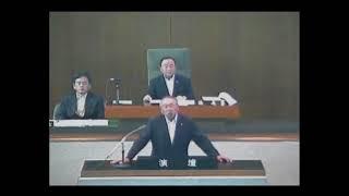 開会宣言・会期の決定・議案審議・一般質問等(平成29年第3回定例会 1日目、9月5日)