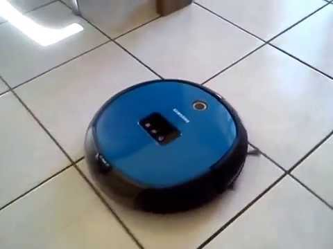 aspirateur robot samsung navibot light youtube. Black Bedroom Furniture Sets. Home Design Ideas