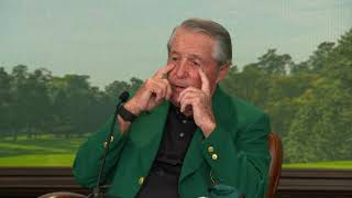 Jack Nicklaus, Gary Player And Lee Elder: Press Conference 2021 The Masters Honorary Starters
