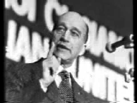 Giorgio Almirante - Il Discorso più bello - Napoli (anni '70)