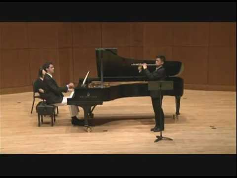 C. Franck - Sonata for Flute and Piano (I. Allegretto ben moderato)