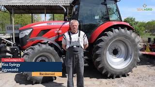 Download A TYM traktort már az utánpótlás is örömmel próbálgatja a bácsborsódi gazdaságban!