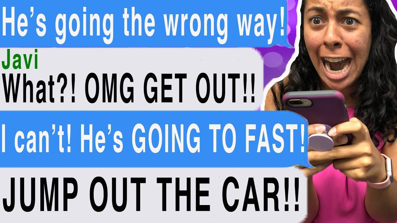 MY UBER DRIVER KIDNAPPED ME!!! (Rideshare | Cliffhanger Scary Text Message  Story)