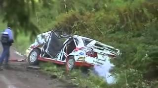 Rallying - compilation - wrc (sestřih z rallye)