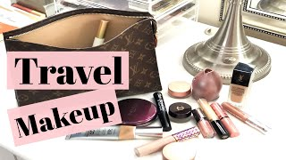 What's In My TRAVEL MAKEUP BAG | Vacation Makeup & Skincare Favorites
