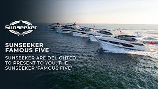 The Sunseeker 'Famous Five' World Premiere