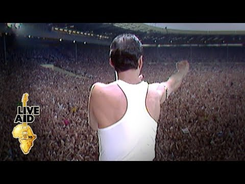 Queen - Radio Ga Ga (Live Aid 1985) - YouTube