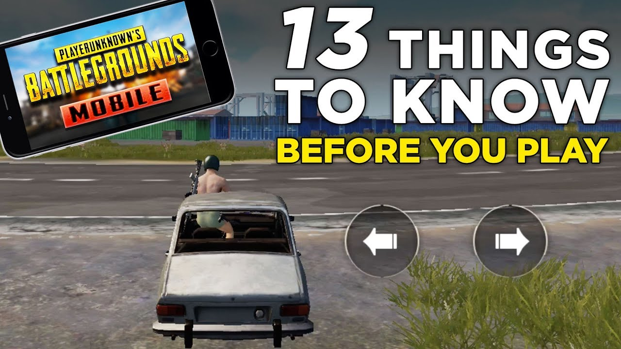 PUBG Mobile GAMEPLAY! — 13 Things to Know About PUBG on iOS & Android