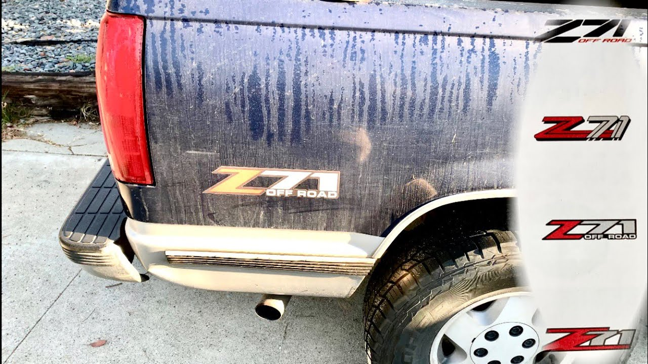 Correct z71 stickers for all years of chevrolet trucks