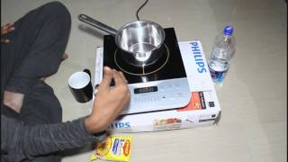 Philips HD4928 Induction Cooktop 2100 watt Review and Making Maggi in Few minutes !!!