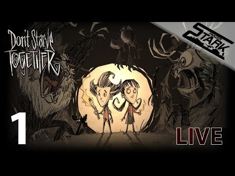 Don't Starve Together - 1.Rész (Csak éhen ne haljunk) - Stark LIVE