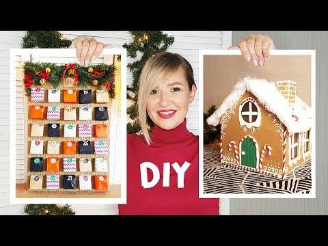DIY Новогодний АДВЕНТ календарь для взрослого и ребенка своими руками. Пряничный дом Advent Calendar