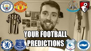 YOUR FOOTBALL PREDICTIONS #GW12