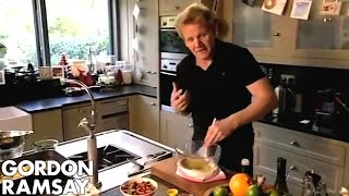 Salmon Salad Nicoise with Tarragon Mayo (Part 2) - Gordon Ramsay