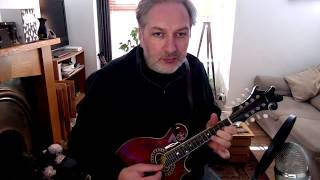 Paddy Fahey's (reel) on mandolin