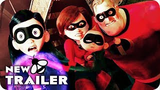 Incredibles 2 Trailer (2018) Pixar Movie