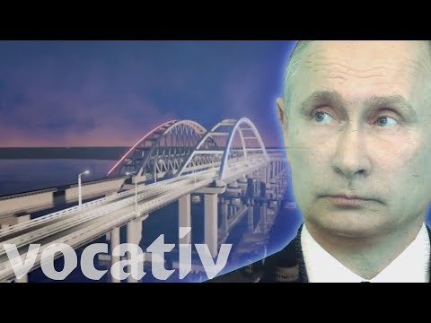 Vladimir Putin's 'Super Bridge' From Russian-Occupied Crimea To Europe Nears Completion