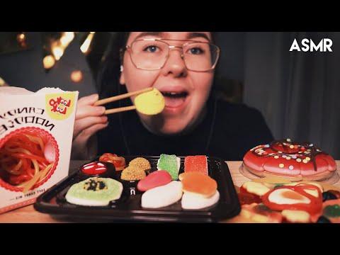 ASMR Candy Sushi,