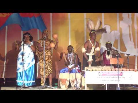 Crane Performers - Uganda Live @ City Park 2016 Asmara Eritrea